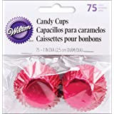 Wilton Candy Cups, 1-Inch, Red Foil, 75-Pack