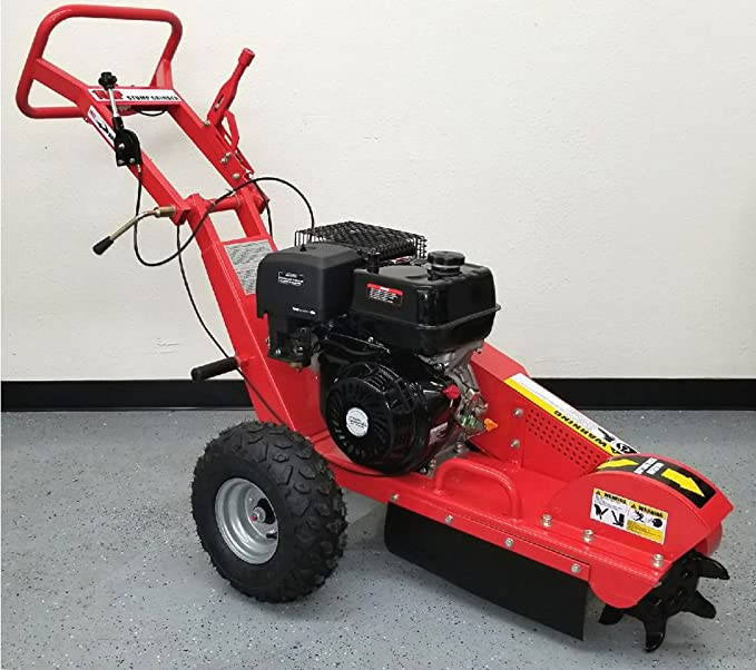 Samson Machinery 15HPSG Stump Grinder - An Easy Stump Grinder for Maneuverability