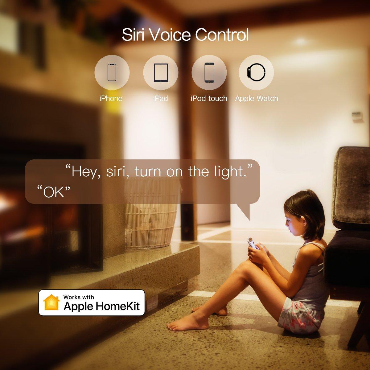Koogeek Smart Wifi Light Switch Two Gang For Apple Homekit