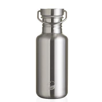 Botella de Acero Inoxidable de 500 ML, Tapa de Acero, Botella de Agua, Botella de Viaje, onegreenbottle