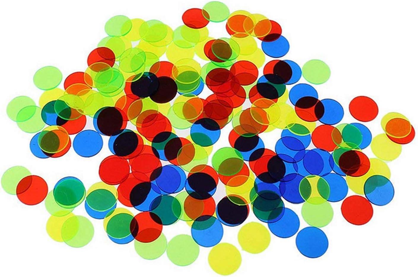 Winthai 100PCS 19m Transparente Contadores de Color Chip Chip para ...