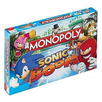 Sonic Boom Monopoly Juego De Mesa Standard Amazon Es Juguetes Y Juegos