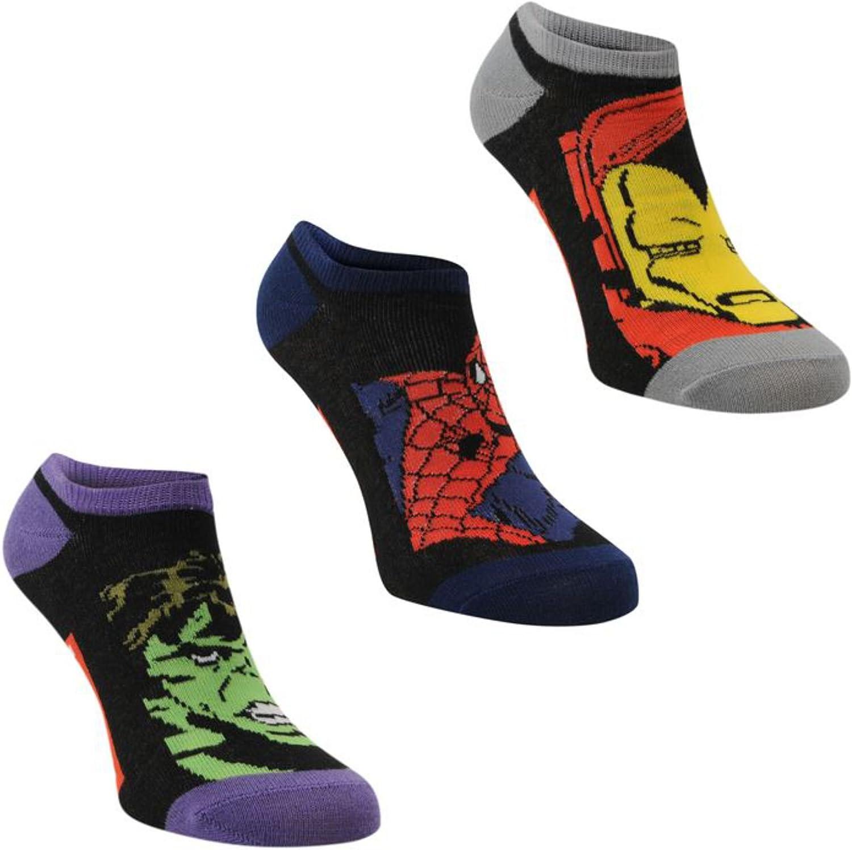 pack Trainer Socks Childs Marvel Junior