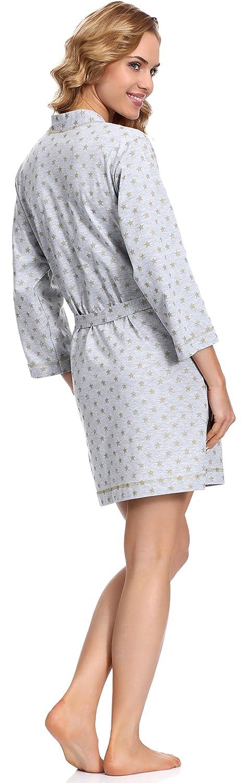 L&L Women's Dressing Gown Sunny Short