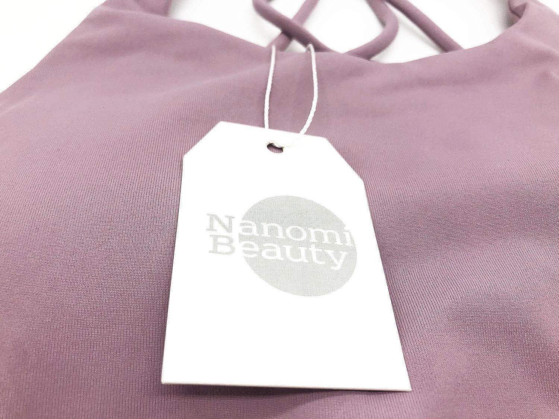 Nanomi Beauty Sujetador Deportivo de Tiras Acolchado para Mujer Workout Running Yoga Tops