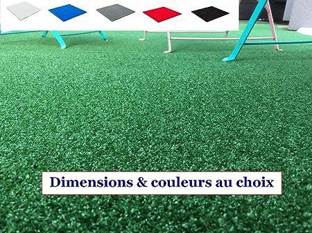 MadeInNature Tapis spécial Salon de Jardin/Tapis extérieur et  intérieur/Tapis pour Terrasses et Balcons/Dimensions et Coloris au Choix  (Vert, 1x2m)