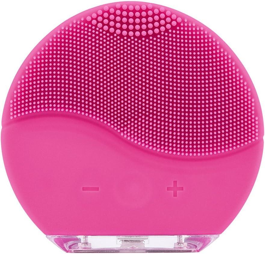 Cepillo Facial Cepillo limpìeza Facial Un cepillo facial sónico de silicona, para todo tipo de piel Recarga por USB