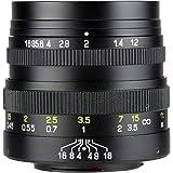 中一光学(ZHONG YI OPITCS) 単焦点レンズ FREEWALKER 42.5mm F1.2 (マイクロフォーサーズ)