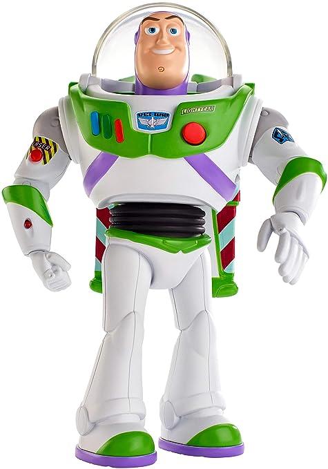 Toy Story 4 Walking Talking Buzz Lightyear Figura Con Frases Y Sonidos Idioma Inglés Mattel Gdb92