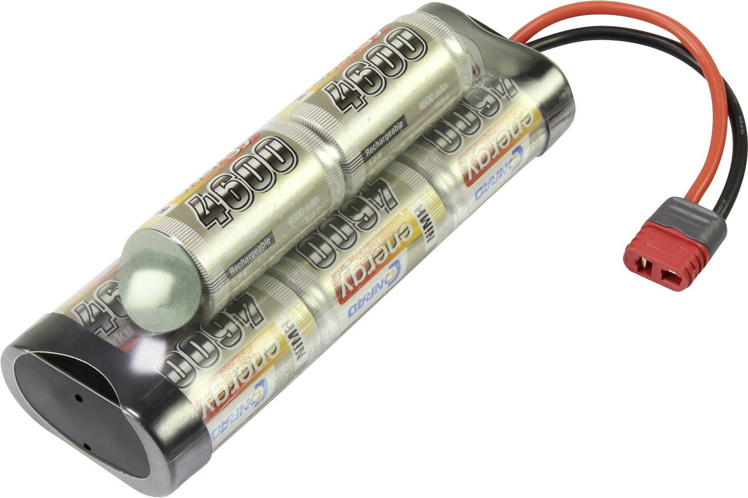 Batteria ricaricabile NiMh 9.6 V 4600 mAh Conrad energy Hump Spina a T