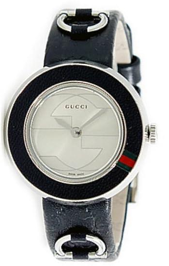 8f749c1f4ea1 [グッチ] GUCCI 腕時計 Uプレイ ベゼル & 替えベルト セット ya129515-BKGG レディース