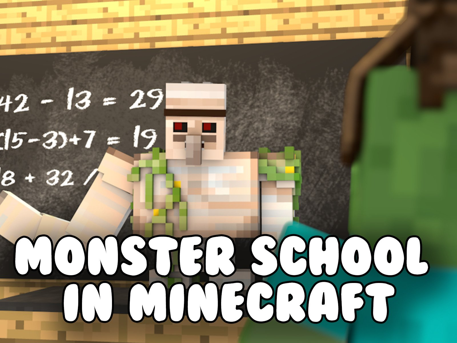 Watch Monster School in Minecraft  Prime Video
