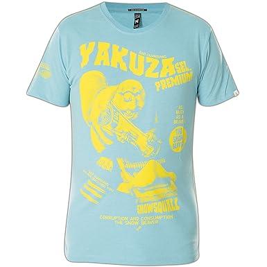Yakuza Premium T-Shirt YPS-2209 Hellblau, 4XL