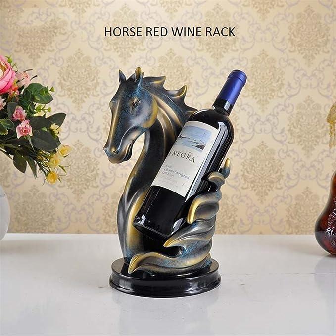 2 An de garantie 3 bouteilles Casier à vin fait main de fers à cheval