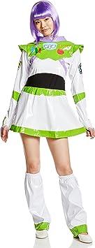 Disney Toy Story Buzz Lightyear Disfraz Mujer 155 cm de 165 cm ...