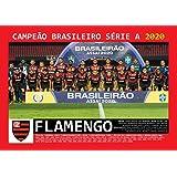 Pôster A4 - Flamengo Campeão Brasileiro - 2020