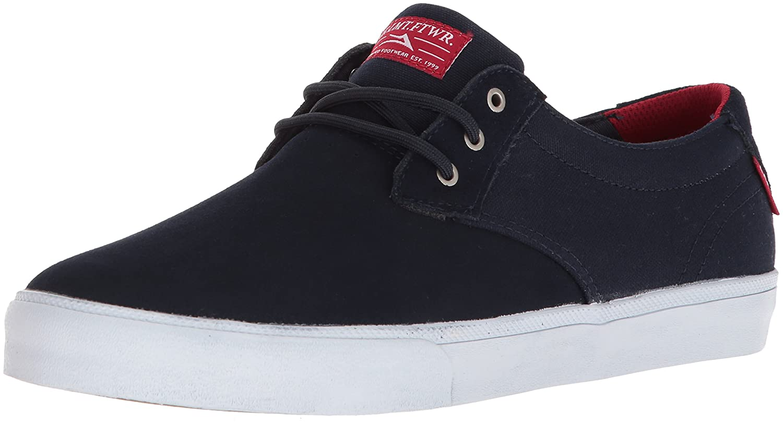 Lakai Daly Skate Shoe B073SP6837 6 M US|Navy Suede
