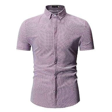Geilisungren Polos Shirt de Manga Cortas para Hombre Camisetas ...