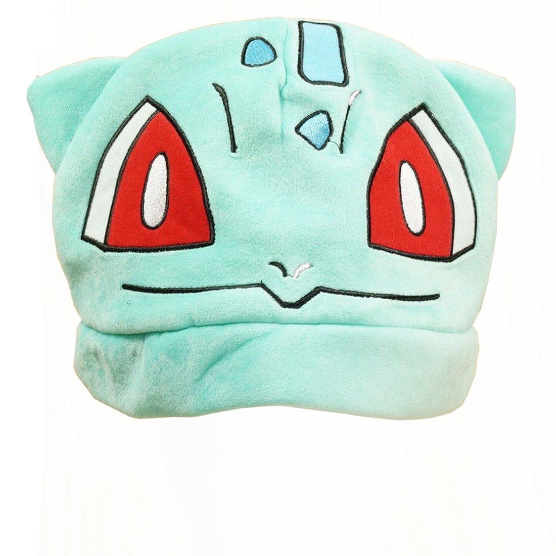 cappello cuffia azzurro animaletto derba 20x30x20 cm cosplay Pidak shop