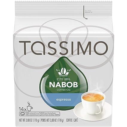 Tassimo nabob Espresso – 14 Cápsulas de café para Tassimo ...