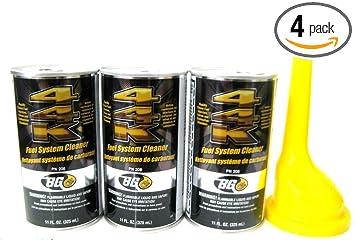 3 Pack Bg 44k Fuel System Cleaner w/ Bg Funnel - 3 Cans