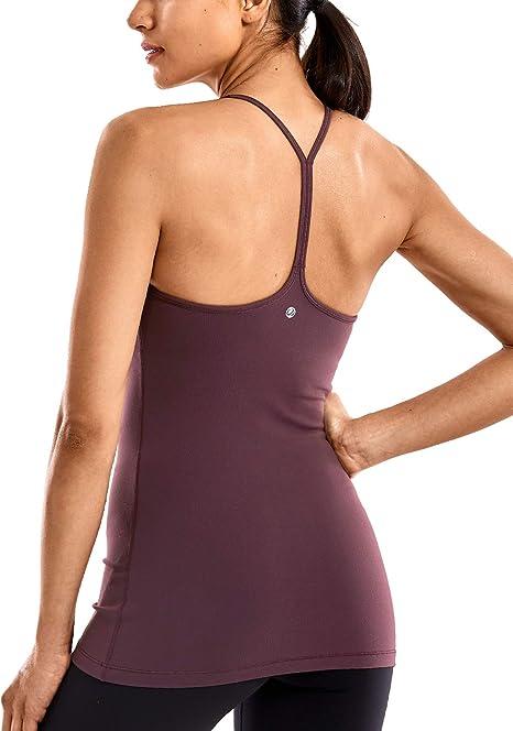 Amazon.com: CRZ YOGA Camisola deportiva de compresión para ...