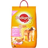 Pedigree Puppy Dog Food Chicken & Milk, 6 kg Pack