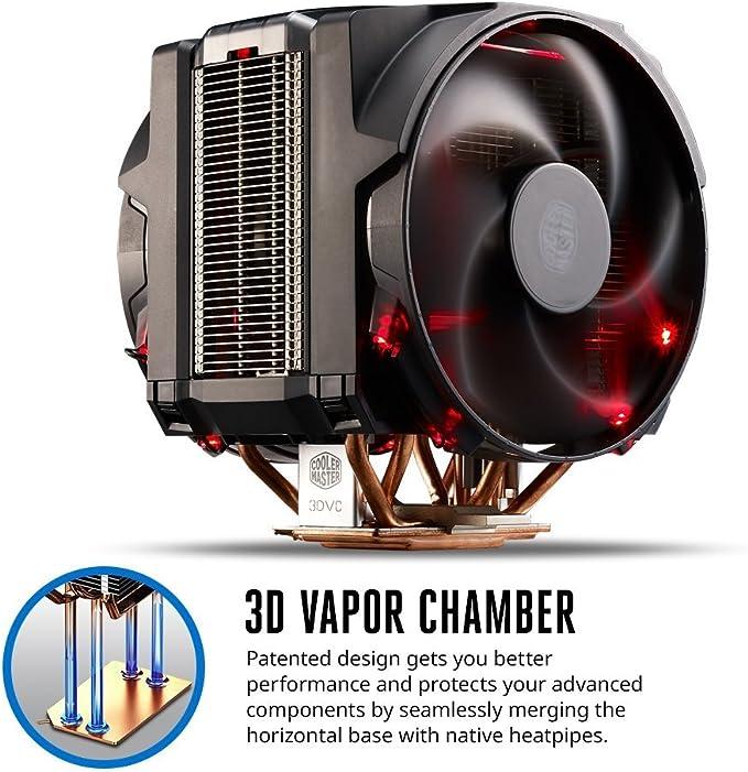 Cooler Master MasterAir Maker 8 - Ventiladores de CPU 8 Heatpipes ...