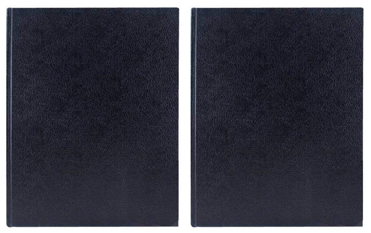 2-Pack - Art Alternatives Black Hardbound Sketch Book 9in x 12in - 110 Sheets by Art Alternatives