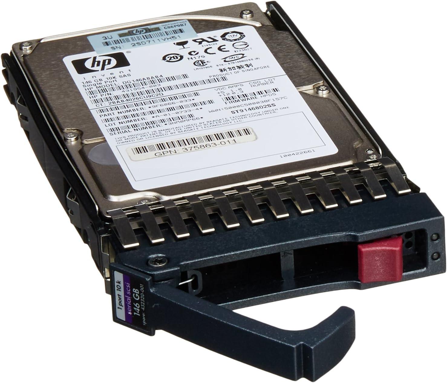 431958-B21//432320-001-HP 146GB 10K SAS 2.5 HOT-PLUG HD