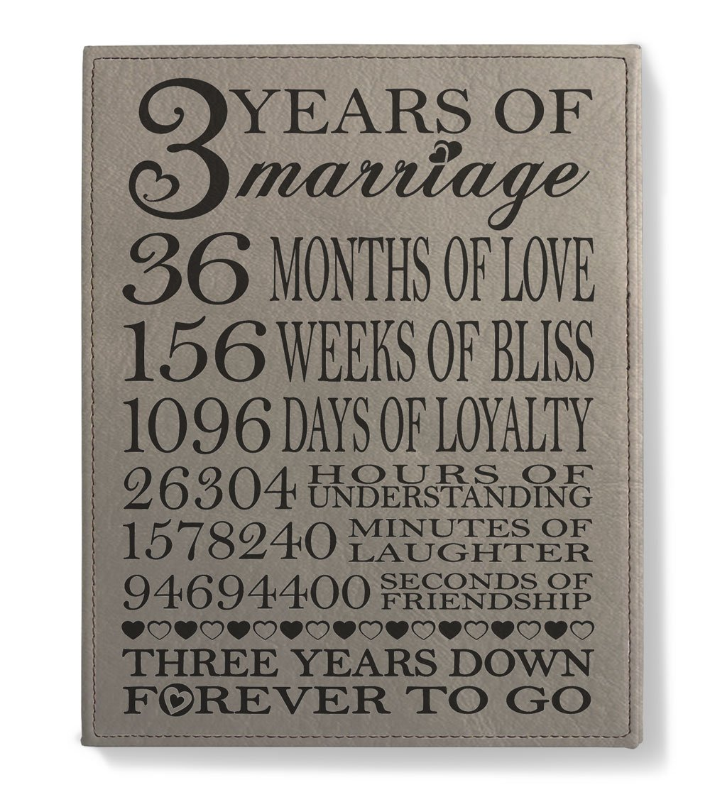 bbeaaa5032a9 Amazon.com  Kate Posh - Our 3rd Wedding Anniversary