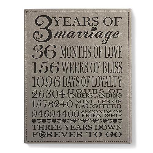 1 Wedding Anniversary Gifts: Leather Gift: Amazon.com
