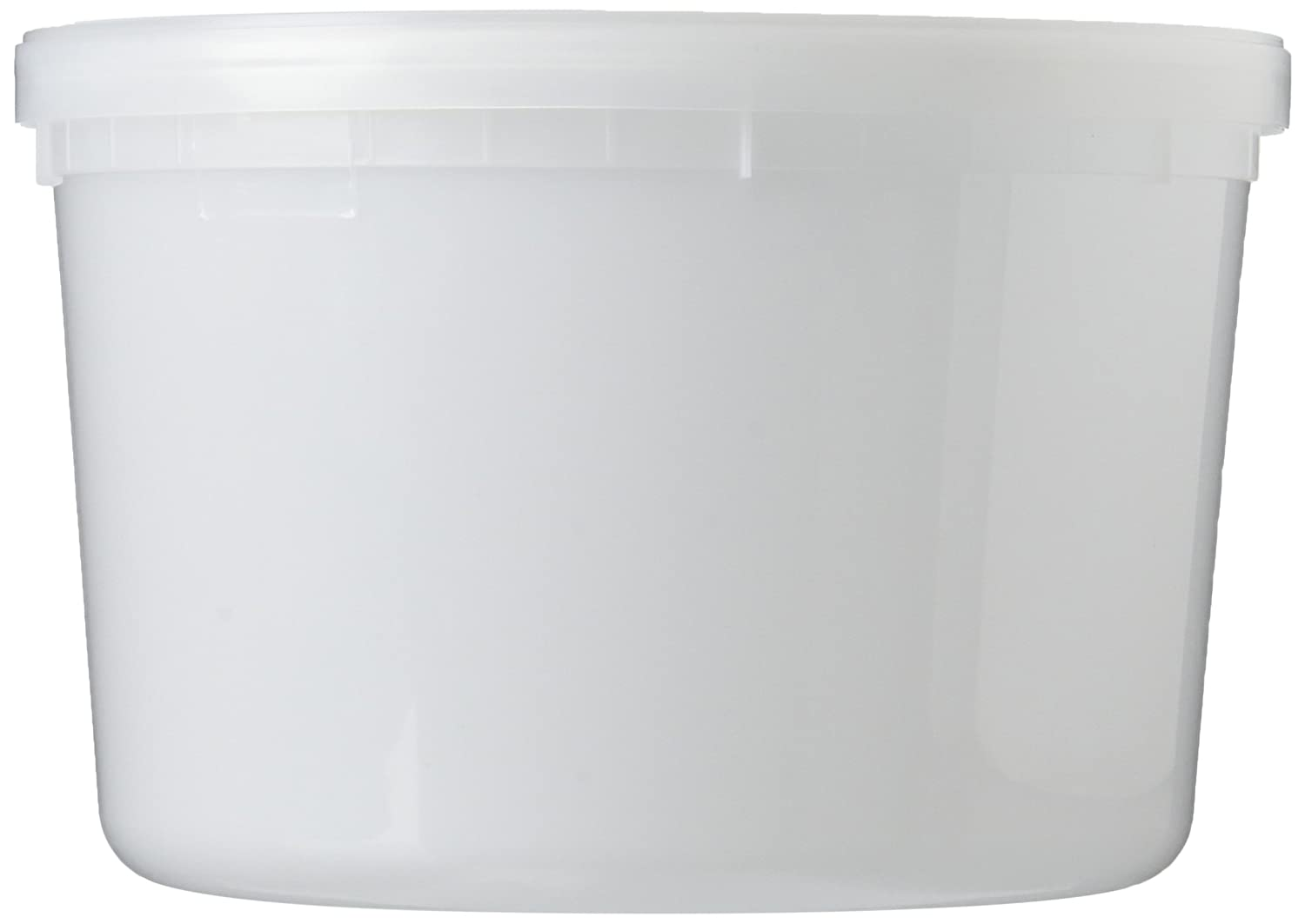 Extreme Freeze RTEF0864 Reditainer 64 oz. Freezeable Deli Food Containers w/Lids - Package of 8 - Food Storage