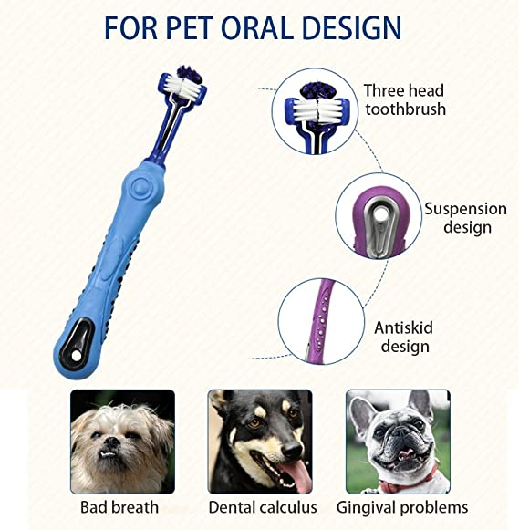 PUAK523 Pak523 Cepillo de Dientes para Mascotas, Cuidado Dental ...