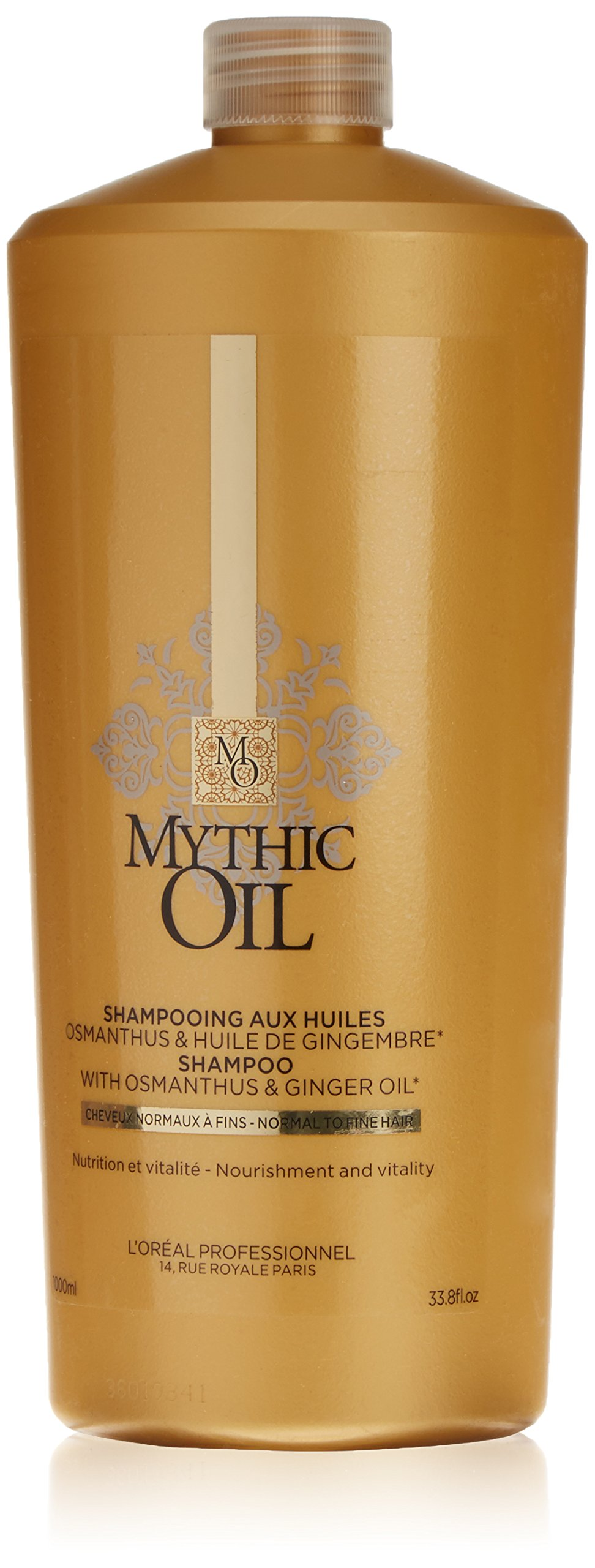 L'Oreal Professional Mythic Shampoo with Osmanthus and Ginger Oil, 33.8 Ounce