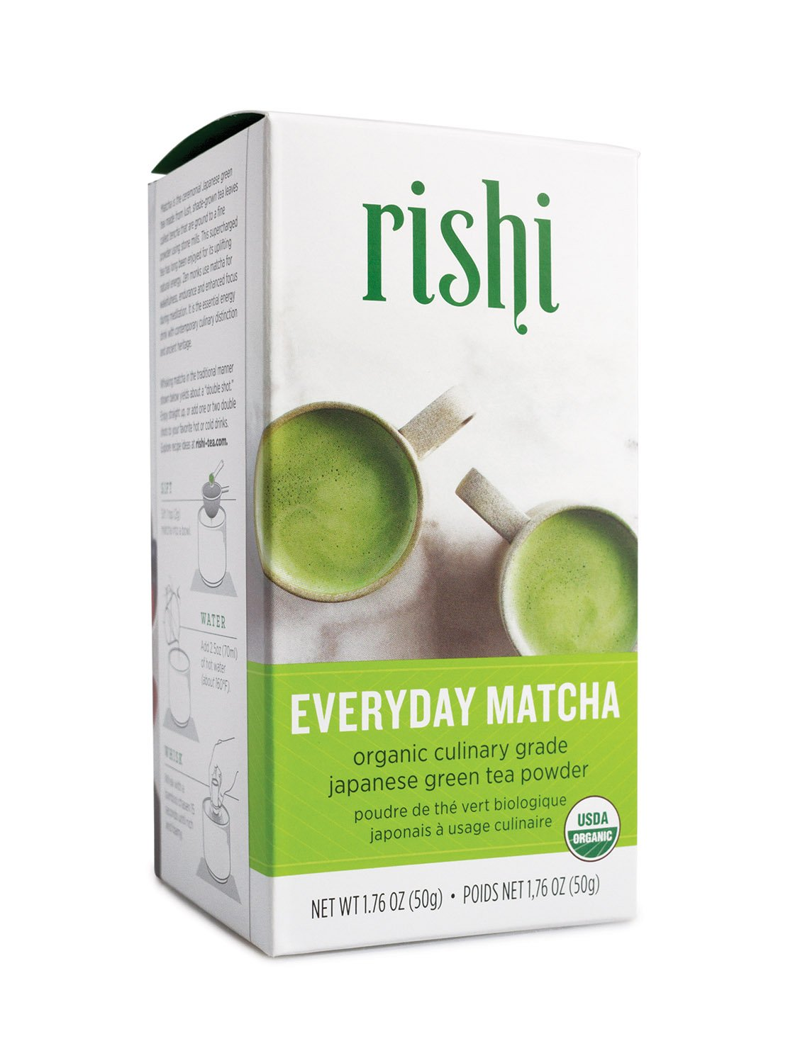 Rishi Tea Organic Everyday Matcha Tea, 1.76 Ounce