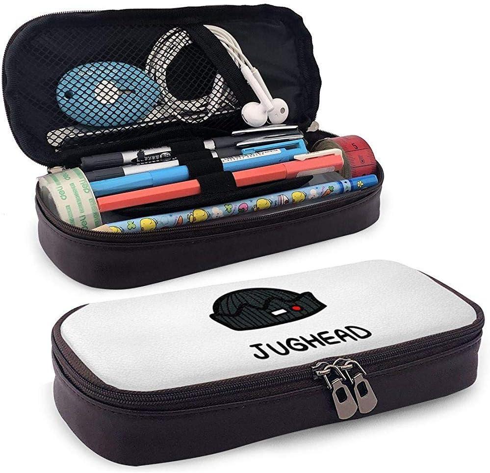 Riverdale Inspired Astuccio portamatite in pelle con astuccio portamatite con cerniera per adolescenti Ragazze Ragazzo Bambino Adulti Jughead Jones
