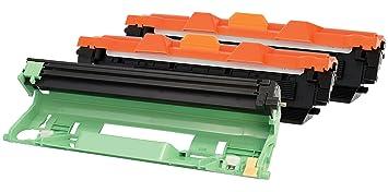 TONER EXPERTE® 2X TN1050 Tóner + DR1050 Tambor Compatible para ...
