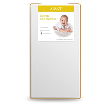 Amazon.: ARCCI Crib and Toddler Bed Mattress, Comfortable and