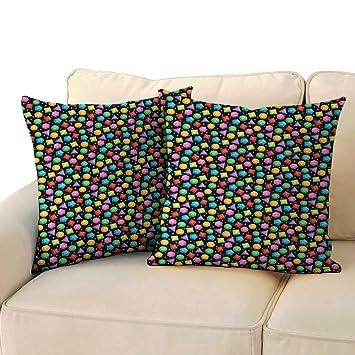 Amazon.com: Ediyuneth - Fundas de almohada con cremallera ...
