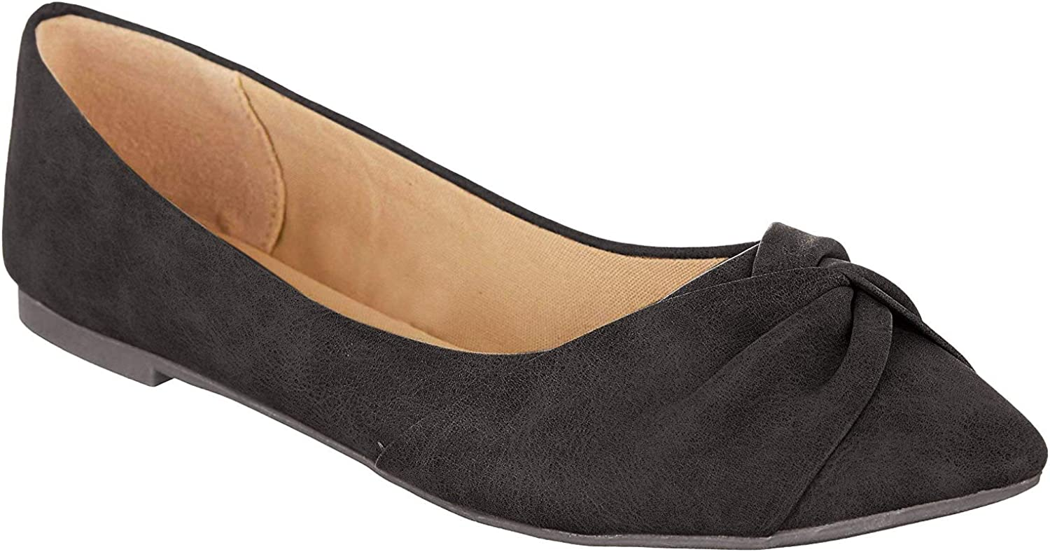Jellypop Jacquee Womens Slip On Flats