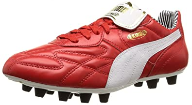8a8ec65f850de1 Puma Mens King Top Di Stripes F Football Boots Red Size  10 UK ...