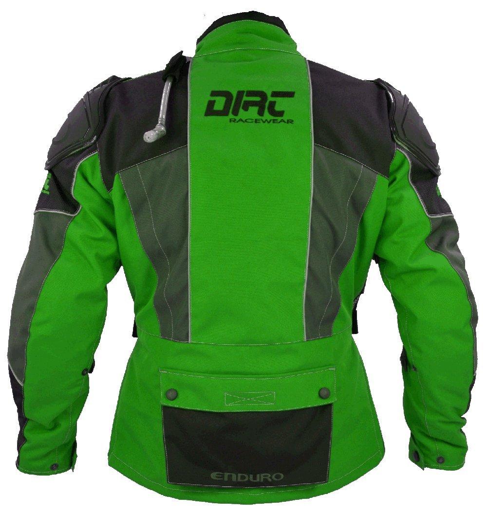 Dirt de Racewear Enduro Quad Chaqueta Pro Kawasaki verde ...