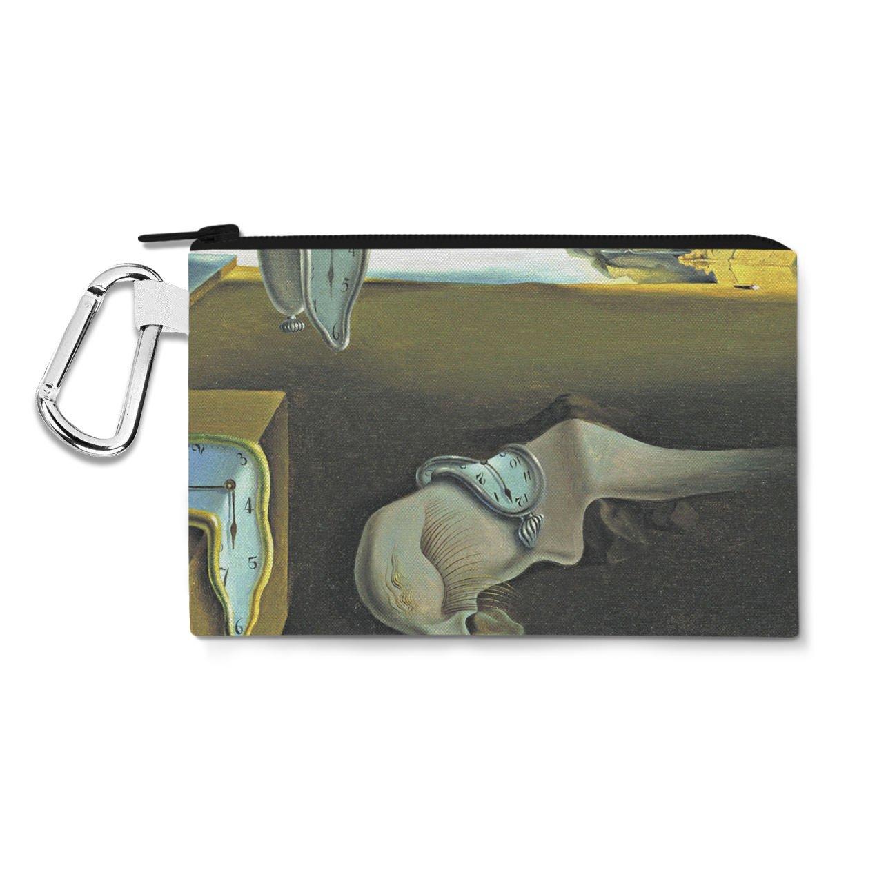 Relojes de fusión Salvador Dalí Fine Art lienzo bolsa Zip - multiusos Estuche Bolsa en 6 tamaños, color multicolor 3XL Canvas Pouch 14x11 inch: Amazon.es: ...