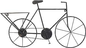 Stonebriar Vintage Bicycle Wall Art, Black
