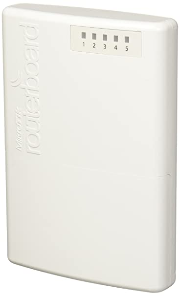 Mikrotik PowerBox RB750P-PBr2 (Poe Router) Routers at amazon