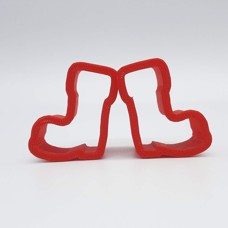 Ausstecher Stiefel, ca. 7.4 cm, Edelstahl, rostfrei: Amazon