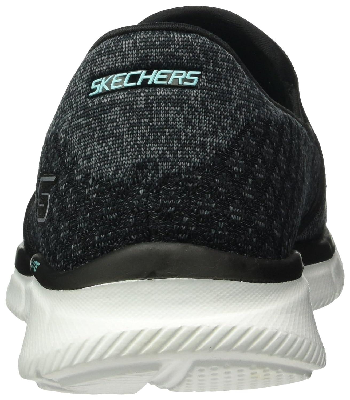 Skechers EqualizerSay Something, Baskets Basses Femme, Gris (Char), 36 EU