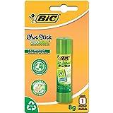 Cola Bastão 8g, BIC, Ecolutions Glue Stick, 886640, Transparente