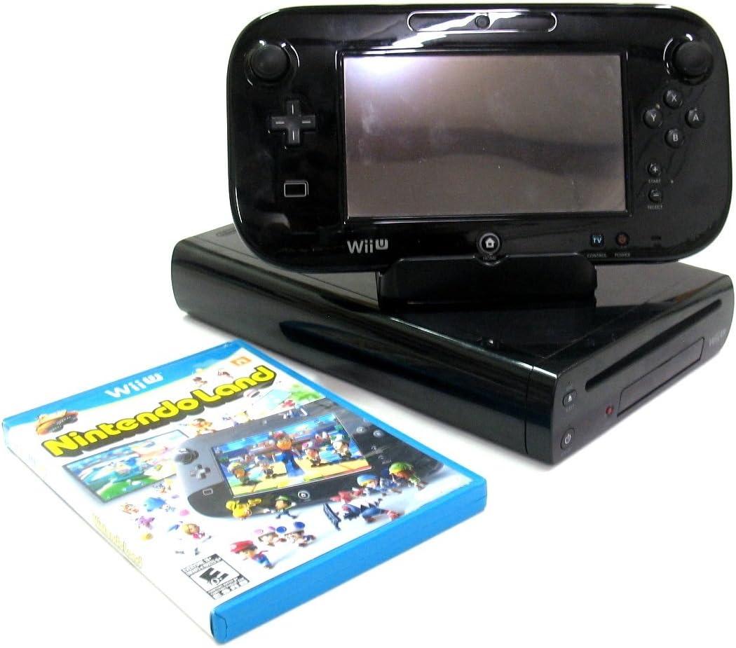 Nintendo Wii U 32GB Premium Pack - Black (Nintendo Wii U) [importación inglesa]: Amazon.es: Videojuegos